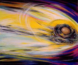 Nest Egg #2 by Deirdre McCay